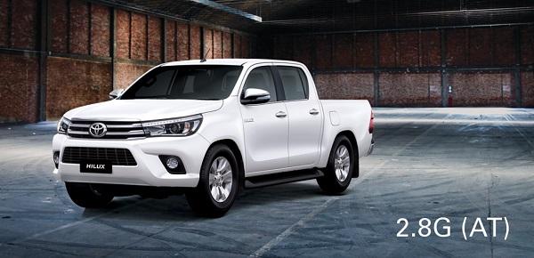 Những mẫu Toyota đang bán tại ViệtNam